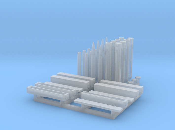 King Tiger Ammunition set 1/72 scale 3d printed