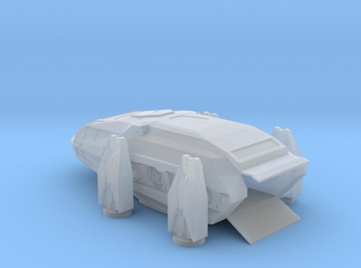 HEAV Landed Door Open, X-Plus/Playmates Scale 3d printed