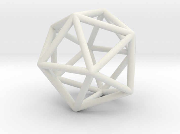 Simple Iso Space Frame 3d printed