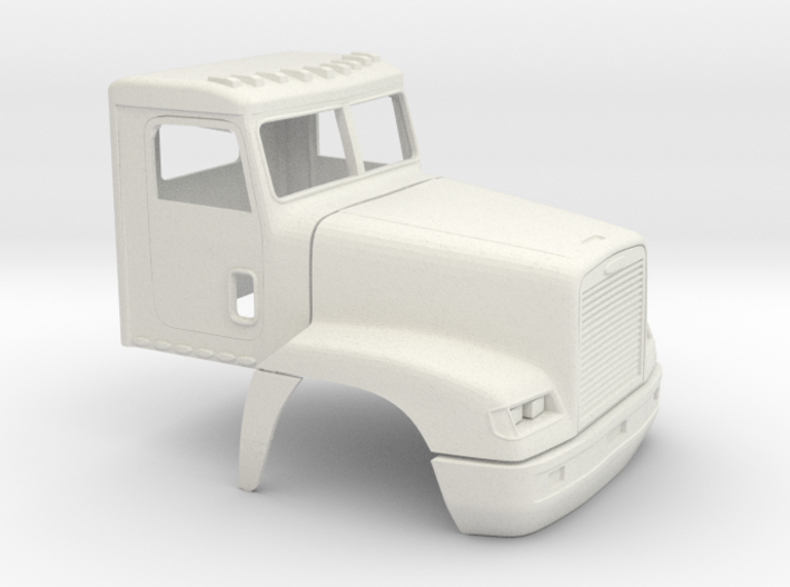 1/35 Frightliner Fld 120 Day Cab Shell 3d printed