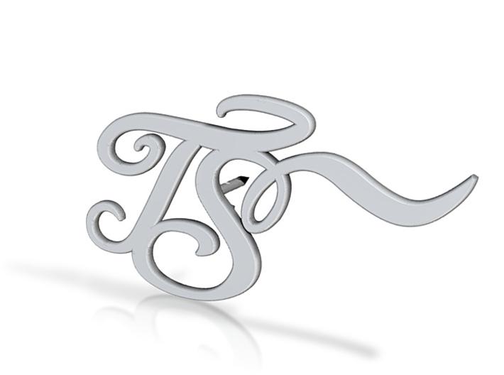 TS logo 3d printed