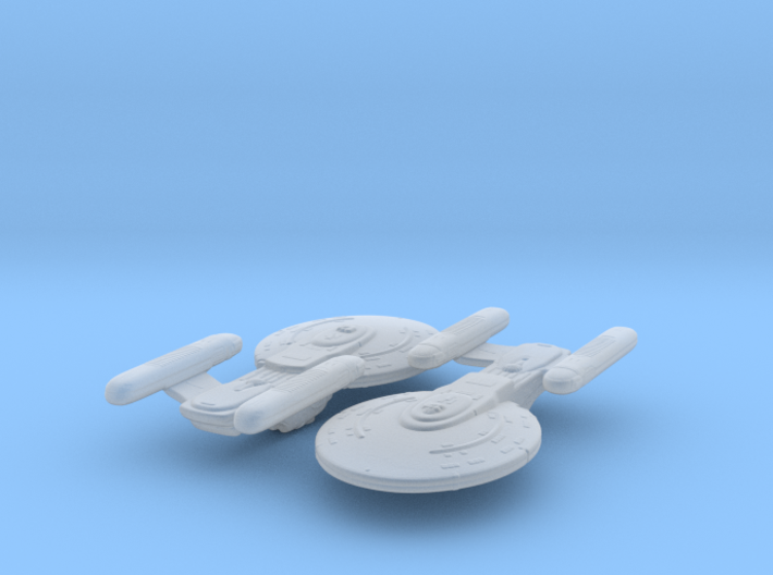 Korolev Class 1/8500 Attack Wing x2 3d printed