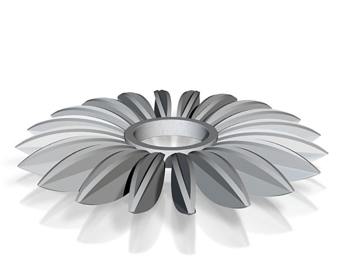 Calatrava Jewellery forms 138 80mm dia pendant 3d printed