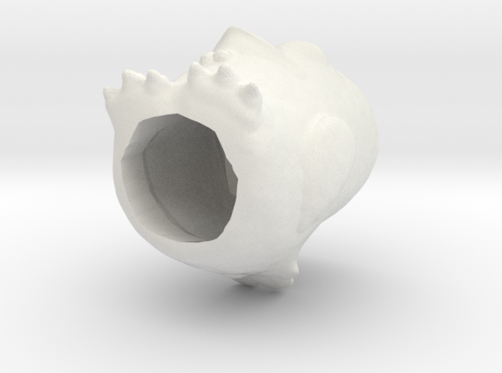 Egg-cup chick 3d printed