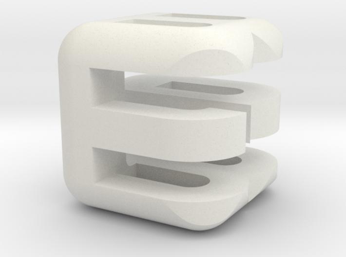 G E B upper (3x3x3) 3d printed