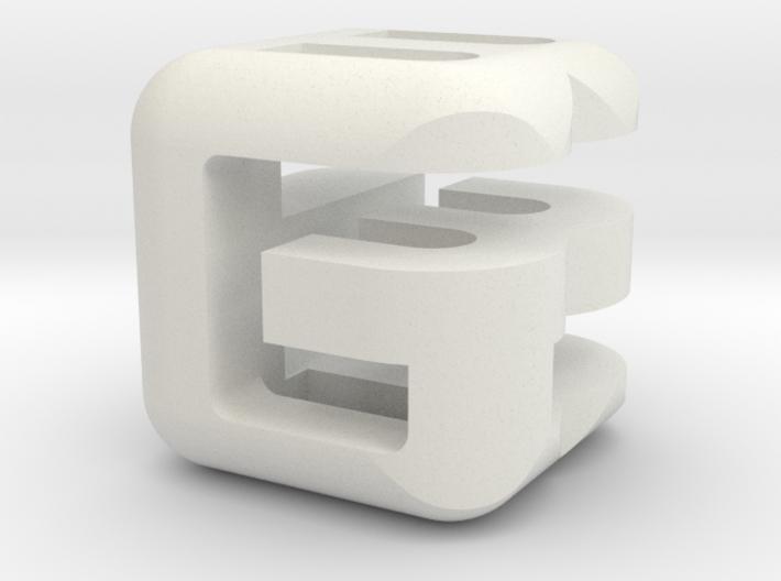 G E B lower (2x2x2) 3d printed