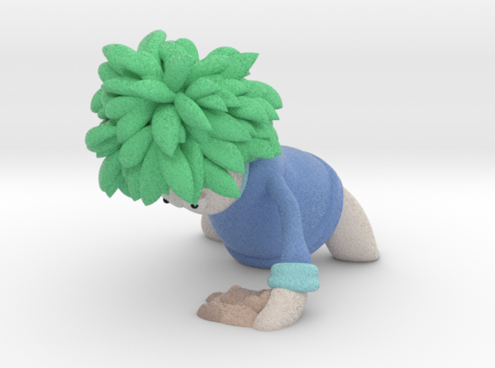Lemming Digger (Large and in Color) 3d printed