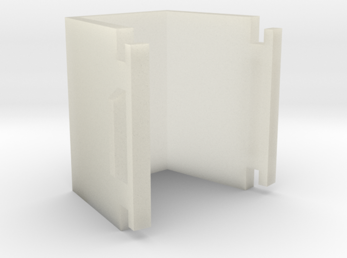 letter space 3d printed