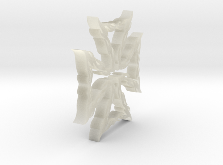 Flame Maltezer Cross 3d printed