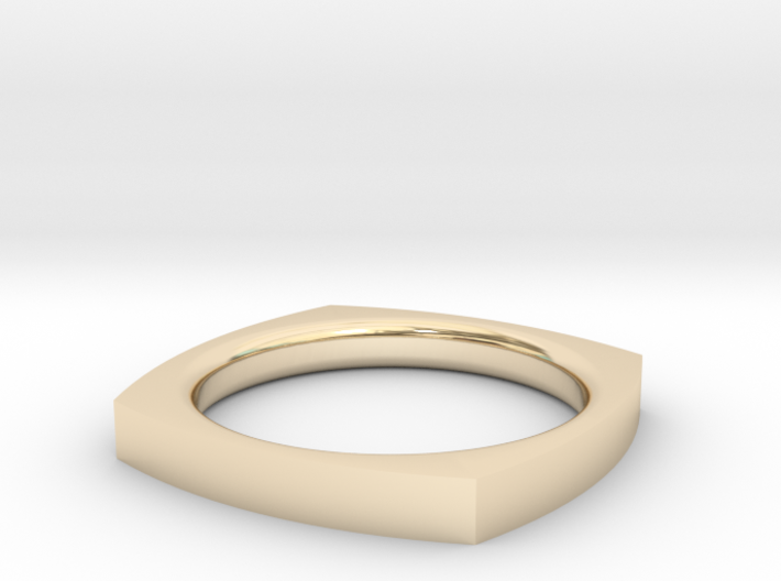 Zen Ring Size 6 3d printed