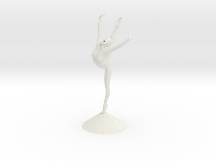 Joyful Dancer Base (pedstal revised) 3d printed