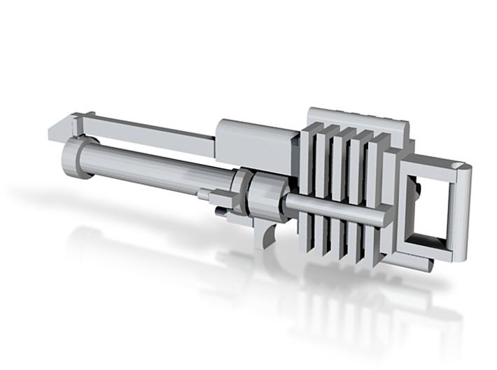 Necron Flayer Rifle 3d printed