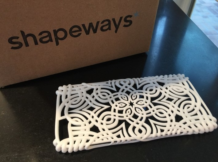 Lotus Case for Iphone 6 Plus 3d printed