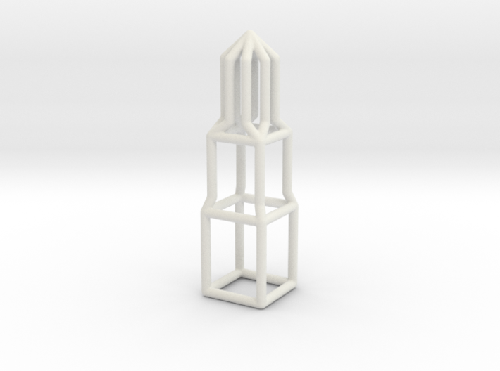 Domtoren pendant 3d printed