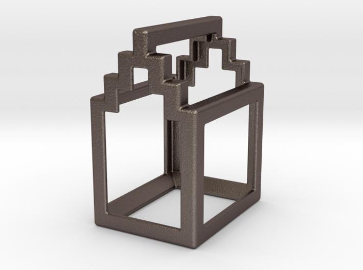 Open Huis bottle opener - Trap Gevel 3d printed