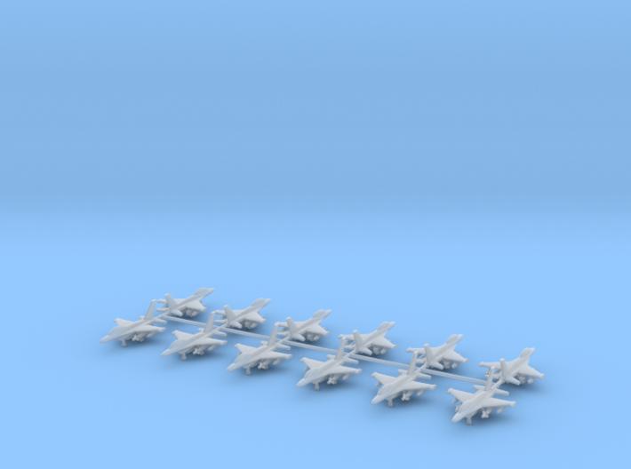 1/700 F-16D Falcon (Twin seat version) (x12) 3d printed