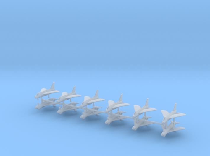 1/700 BAC Lightning F.3 (x12) 3d printed