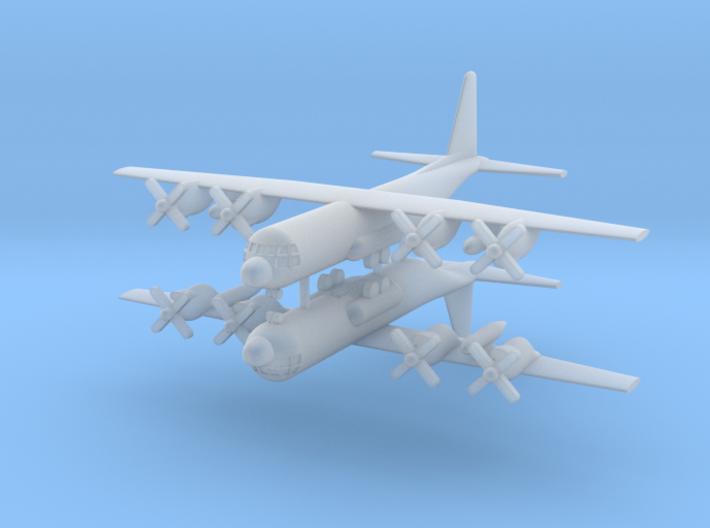 1/700 C-130E Hercules (x2) 3d printed