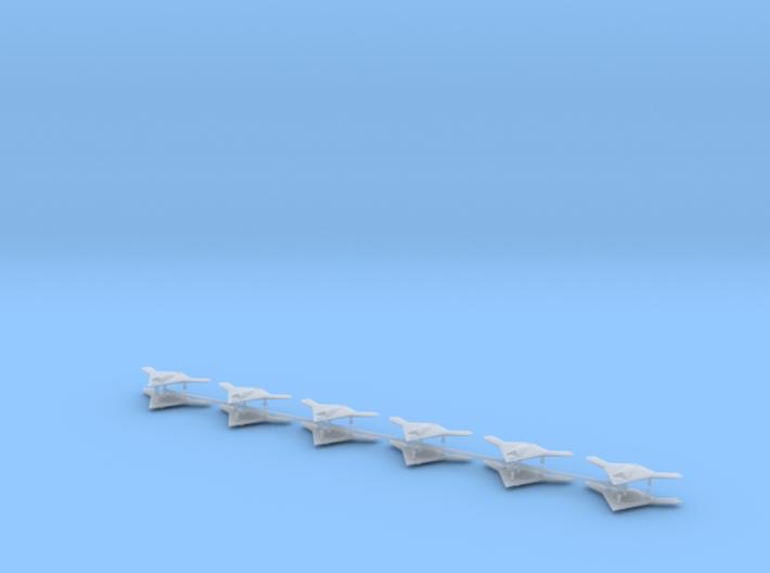 1/700 X-47B Pegasus (x12) 3d printed