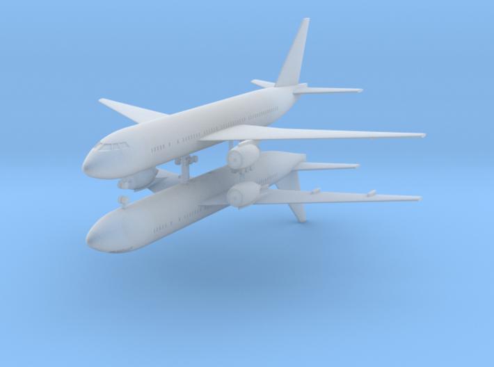 1/700 Boeing 777-200ER Commercial Airliner (x2) 3d printed