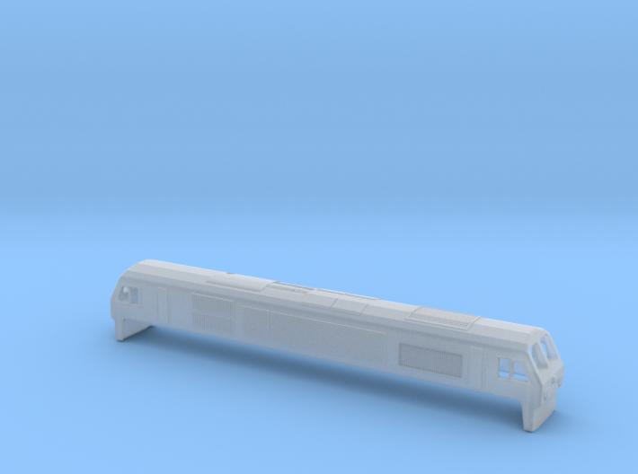 IE Class 201 Locomotive N Scale 3d printed