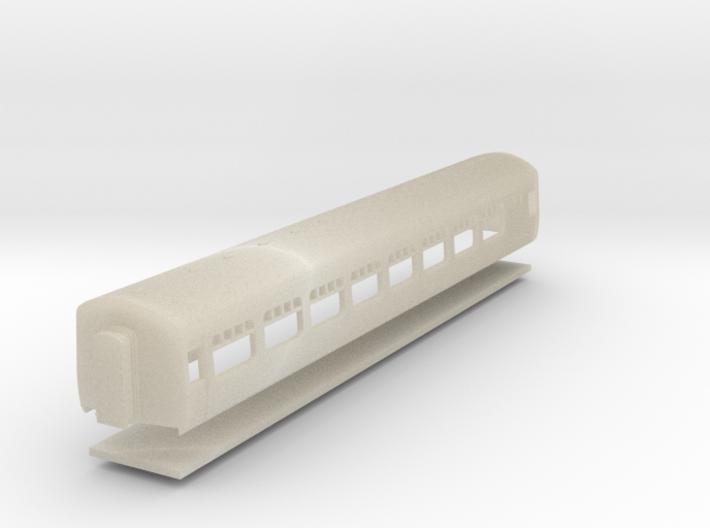 CIE Cravens Built Coach N Scale 3d printed