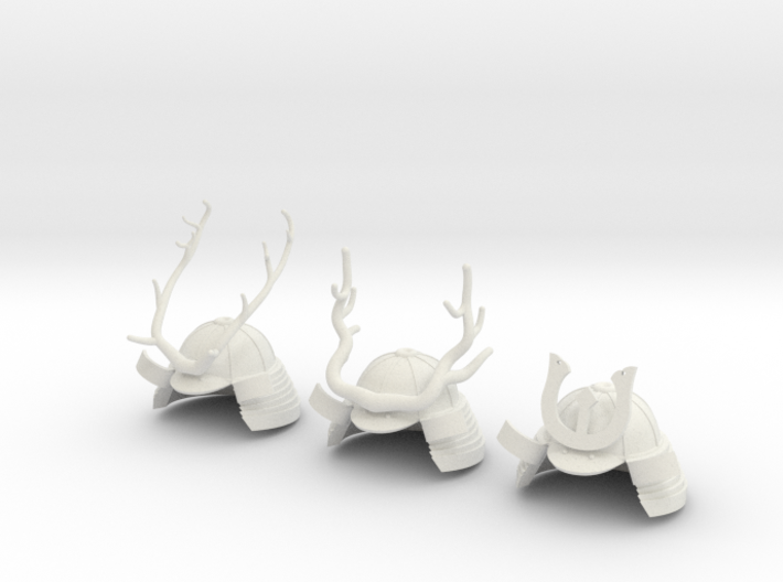 KABUTO ANTLERS 3d printed