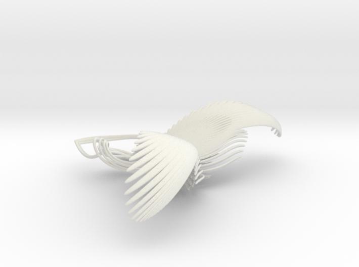 Fractal geometry ornament 3d printed