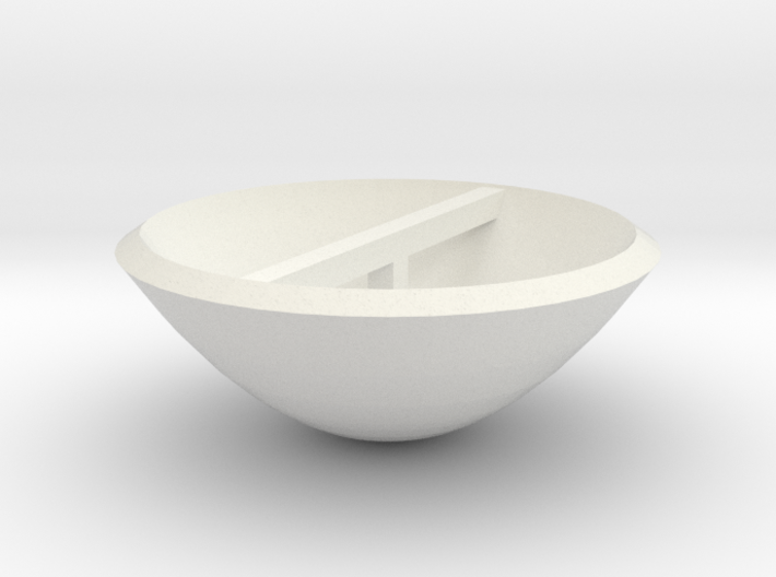 Smaller Dish 3d printed