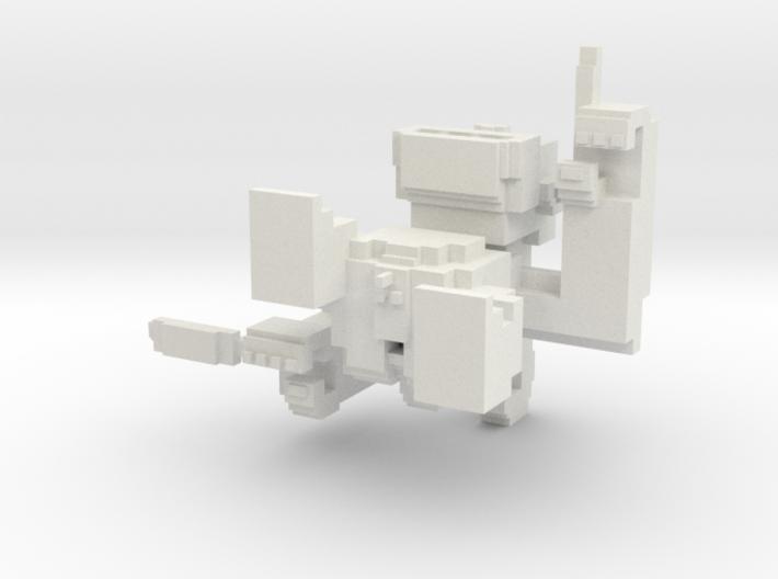 Medium Pixel Monkey 3d printed