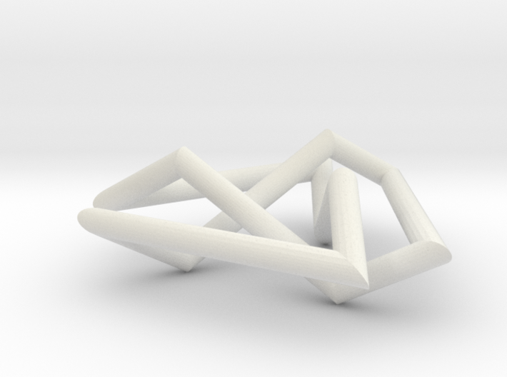 Trefoil small 3d printed