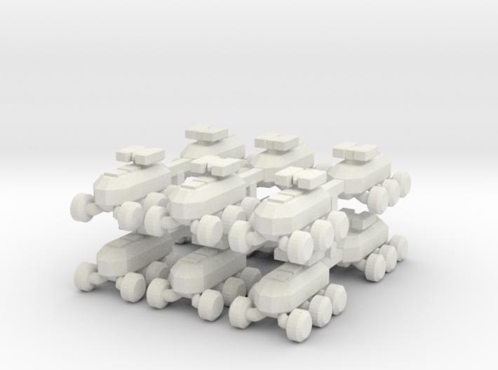 8 MULE Robot x12 3d printed