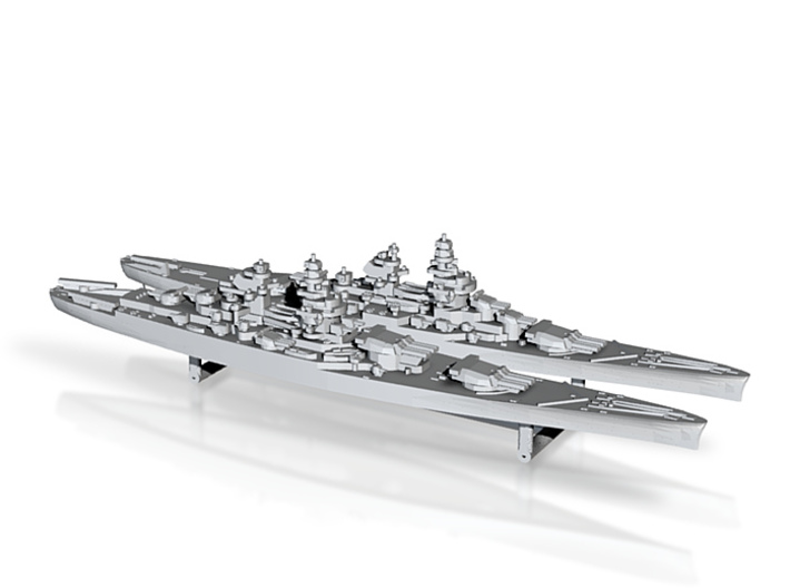 48FN02 French Navy Battleship Pack 2 3d printed