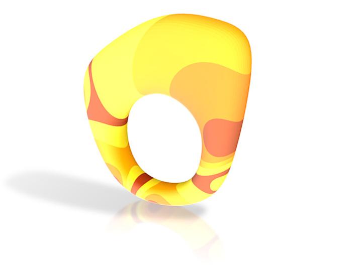 Vintage Ring 3d printed