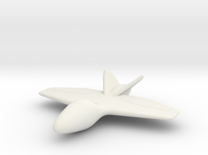 The Batwing 3d printed