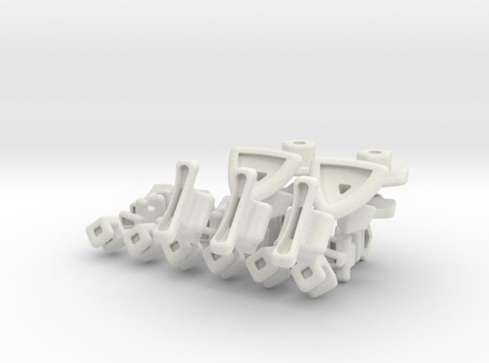 x10 Mini Gigaminx 3d printed