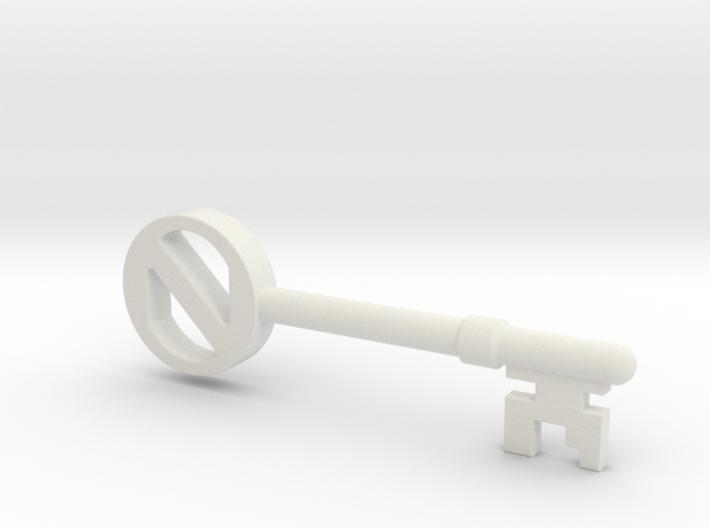 The Key 3d printed