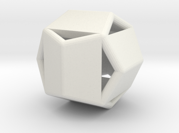 d12 pyrite1 blank 3d printed