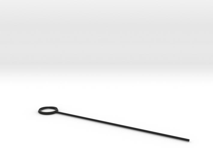 Möbius swizzle stick 3d printed