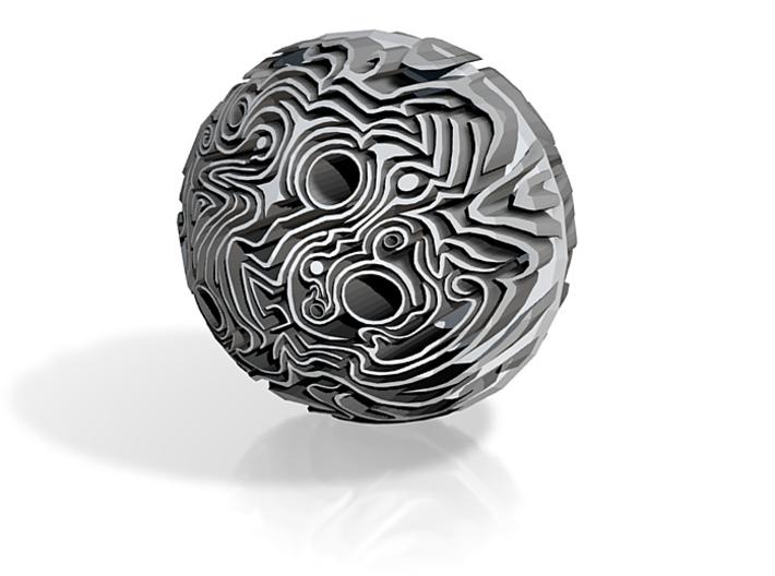 Strange Sphere 3d printed