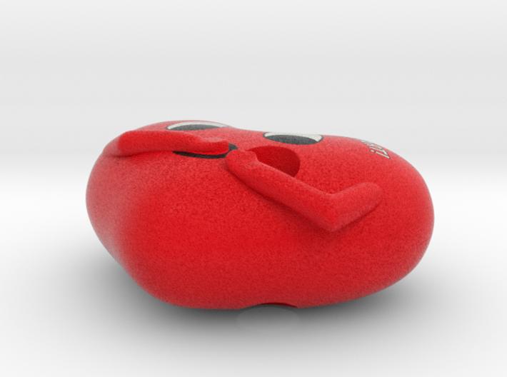 Valentine keychain 06 3d printed