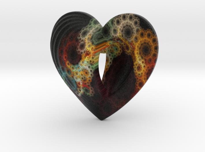 Fractal Heart Bauble 2 3d printed