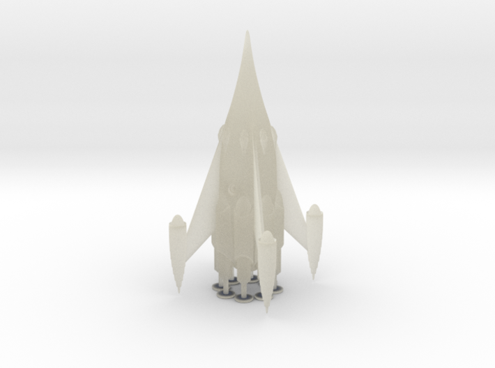 "R-Rocket ""Mars""-Class Large 3d printed"