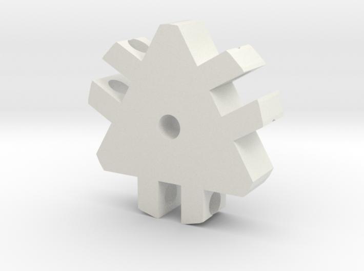 Tri-Hub 3d printed
