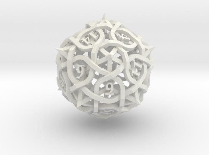 Thorn d20 3d printed