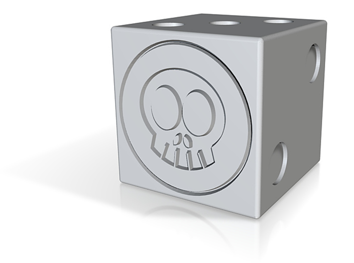 Skull Space D6 3d printed
