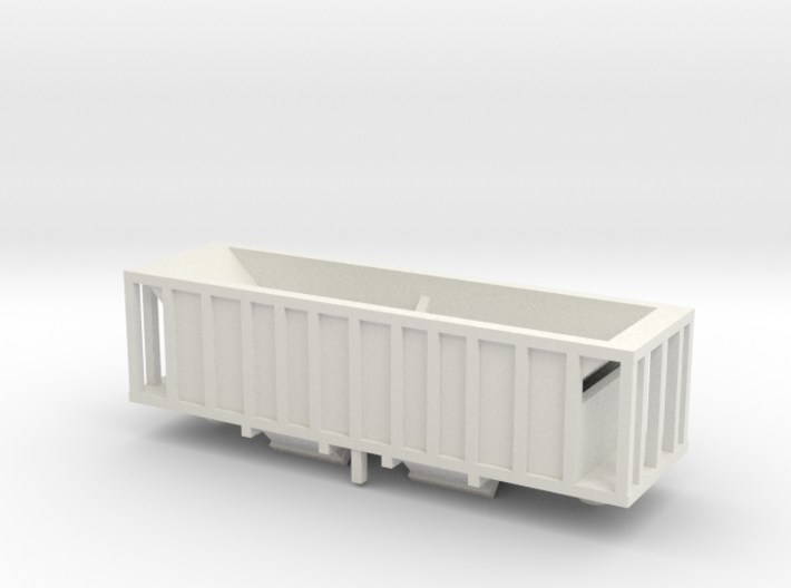 Taconite Ore Car-Z scale 3d printed