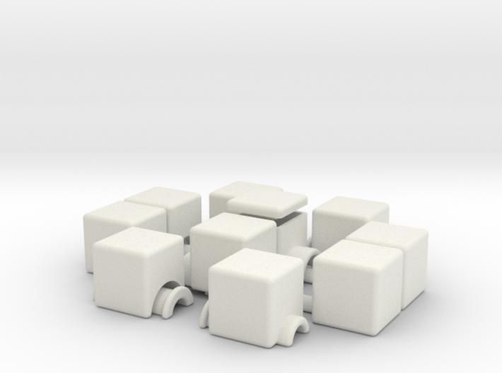 1x2x5 v2 (hollow) 3d printed