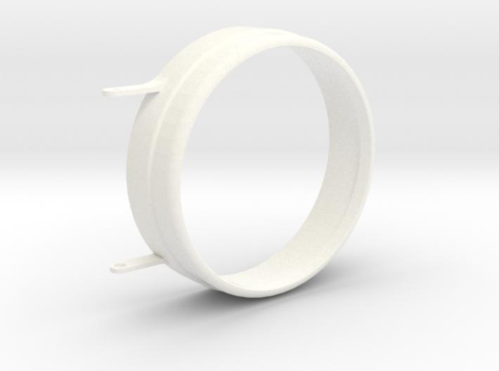 "1"" Scale Sunbeam Headlight Lense Cap 3d printed"