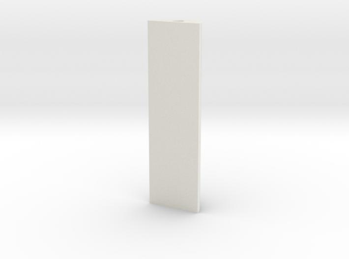 ikea-curtainrail-extender 3d printed